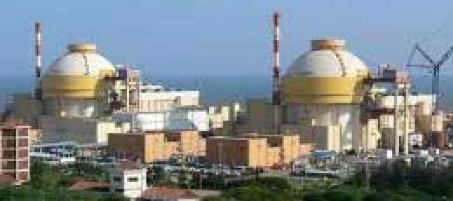 Rs 544 cr may be allocated for nuclear units 5&6 at Kudankulam
