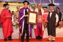 CMD NLC India Dr.S.K.Acharya conferred with prestigious Honoris Causa( D.Litt) by Utkal University