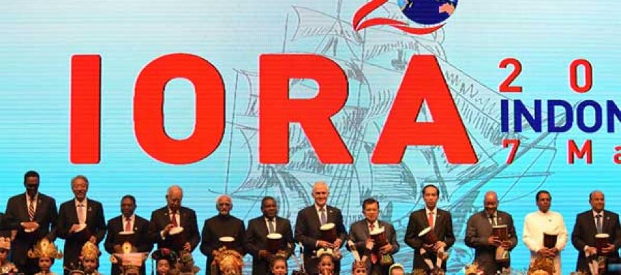 Vice President, M. Hamid Ansari at the opening ceremony of the 20th Indian Ocean Rim Association Leaders' Summit,