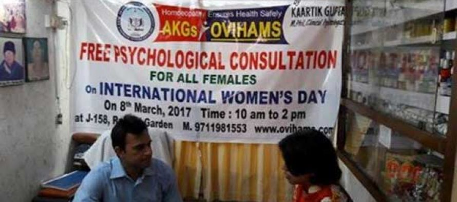 On Women's Day , Free Psychological Consultation given by Kaartik  Gupta at AKGsOVIHAMS