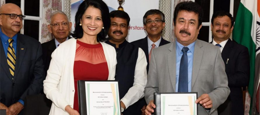 Oil India Limited signs MoU with University of Houston