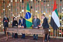 UAE, Brazil sign three accords enhancing ties