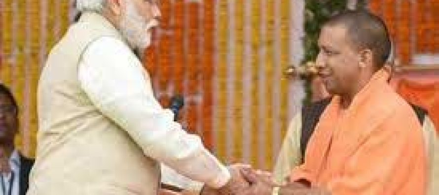 Adityanath meets Modi, discusses UP