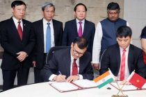 Minister for Electronics & IT and Law & Justice, Ravi Shankar Prasad and the Minister of Information & Communications of Vietnam,