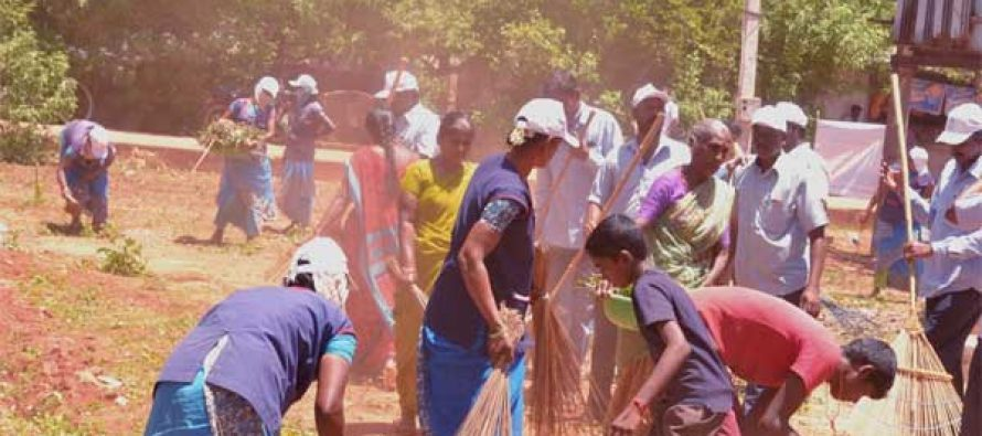 "NLC IL Carries  out ""Clean India"" Activities in Peripheral Villages"
