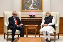President, European Investment Bank, Dr. Werner Hoyer calling on the Prime Minister Narendra Modi