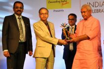 """NHPC bags award for """"Excellence in CSR/Environment Protection and Conservation"""" at India Pride Awards 2016-17"""