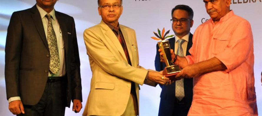 "NHPC bags award for ""Excellence in CSR/Environment Protection and Conservation"" at India Pride Awards 2016-17"
