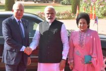 Malaysian PM accorded ceremonial welcome