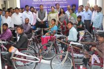 NBCC SERVICES LIMITED DISTRIBUTES AIDS TO DIFFERENTLY ABLED
