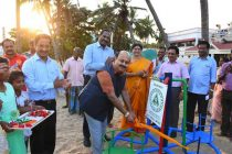 NLCIL provides Play Equipments to Children's Park of Old Port Beach Puducherry under its CSR