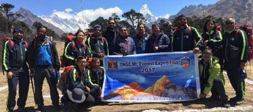 ONGC Everest Expedition 2017 flagged off