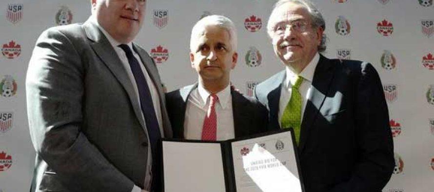 US, Mexico, Canada bid to co-host 2026 FIFA World Cup