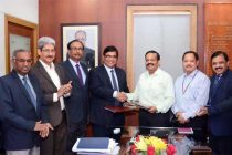 BHEL Signs MoU 2017-18 with Govt. of India