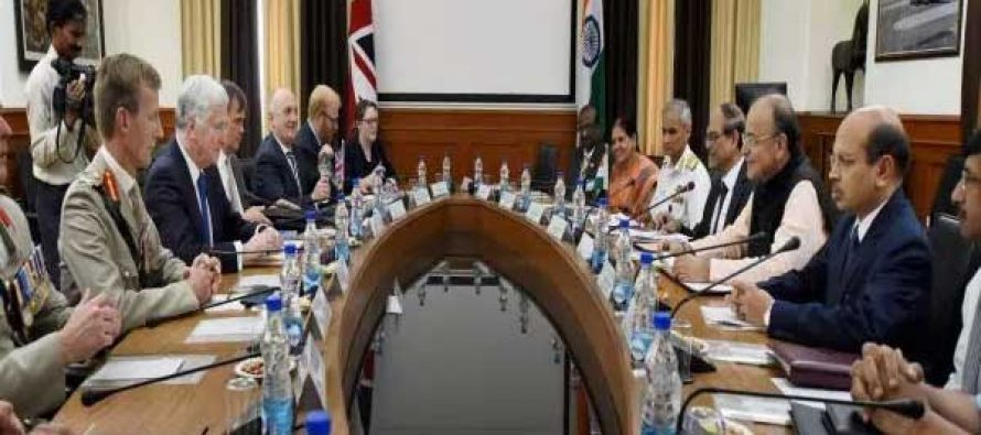 India-UK to expand defence ties