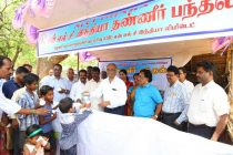 NLCIL Inaugurates 8 Free Butter Milk Distribution Stalls under CSR