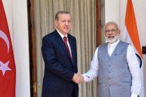 Modi, Erdogan meet ahead of bilateral talks