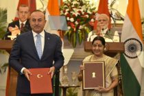 India, Turkey sign three agreements