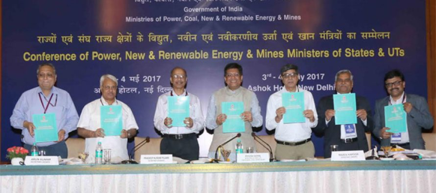 Power Minister releases PFC's '5th Annual Integrated Rating of State Power Distribution Utilities'