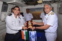 Indian Naval ships visit Israel ahead of PM's visit