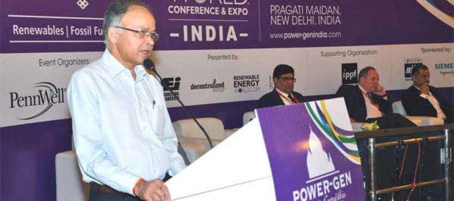 CMD, NHPC delivers Keynote address at POWER-GEN India & Central Asia 2017