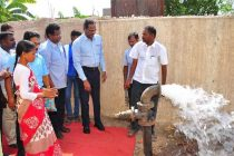 NLCIL Provides New School Building and Over Head Tank to  Siruvathur Village,Cuddalore District,  Under its CSR Initiatives'