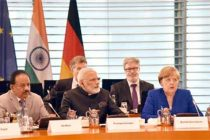 Modi meets German Chancellor Merkel