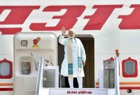 PM Modi leaves for Sri Lanka