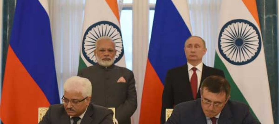India, Russia sign Kudankulam pact for Units 5, 6