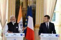 India, France pledge to take Paris accord forward