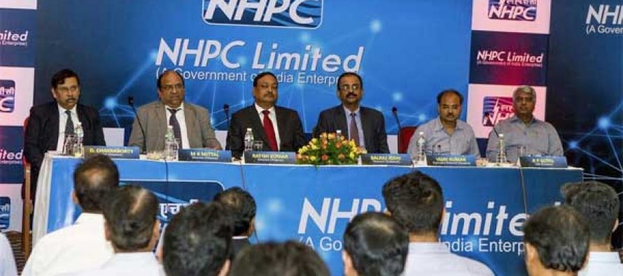 NHPC Conducts Analyst Meet Post Annual Result for FY 2017