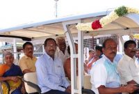 NLC INDIA LTD PROVIDES REVERSE OSMOSIS WATER TREATMENT PLANT AND A BATTERY OPERATED VEHICLE TO THE LORD NATARAJAR TEMPLE , CHIDAMBARAM