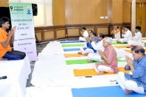 OIL INDIA LIMITED Observes 3 RD International Day of Yoga-2017