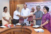HUDCO and EPFO sign MoU to facilitate HFA Mission