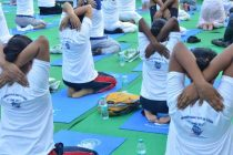 PFC ORGANIZES YOGA CAMP ON THE OCCASION OF INTERNATIONAL YOGA DAY