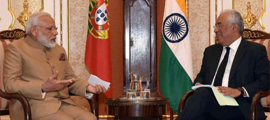 India, Portugal to cooperate on startups, oceanography
