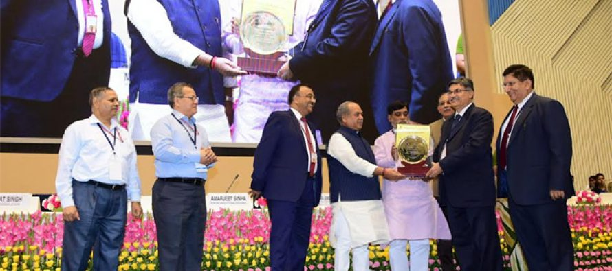 PNB Conferred National Award in SHG-Bank Linkage for the Year 2016-17 under Large Size Bank Category