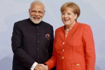 Merkel receives Modi ahead of G20 Summit