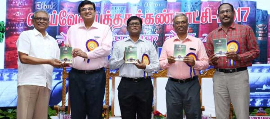 """Life Span could be extended by reading Good Books"" – Collector, Cuddalore District at the Neyveli Book Fair-2017"