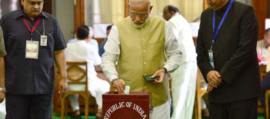 Meira vs Kovind: Lawmakers vote to elect India's 14th President