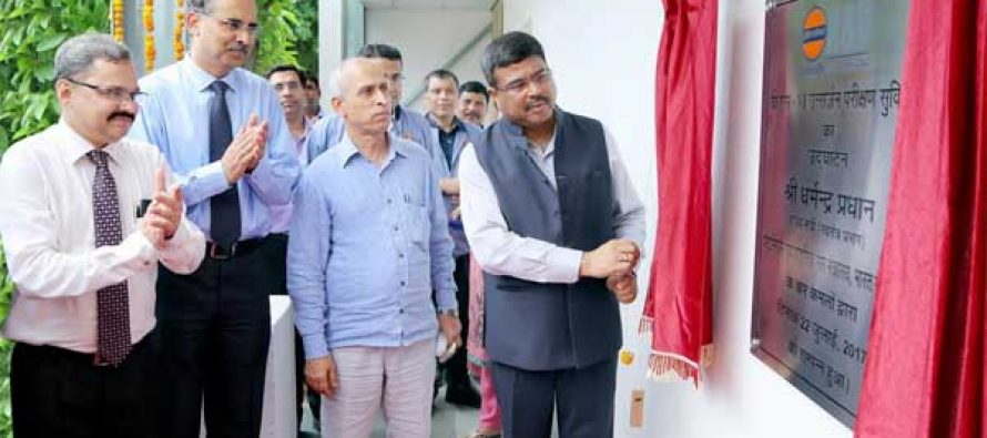 Petroleum Minister inaugurates BS-VI Emission Testing Facilities at IndianOil's R&D Centre