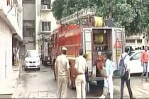 Fire breaks out at Shastri Bhawan
