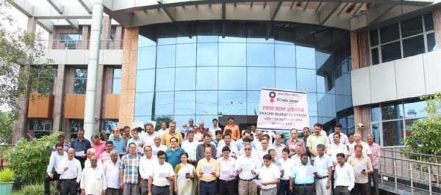 Oil India Limited observes Swachhta Pakhwada-2017