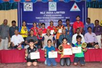 State Rank Table Tennis tournament concluded at Neyveli