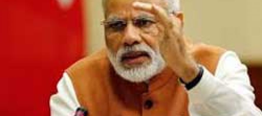 Modi reviews progress of 17 schemes with BJP CMs