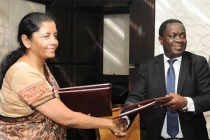 MoS for Commerce & Industry (IC), Nirmala Sitharaman and the Minister for Industry, Trade and Investment, Tanzania, Charles John Mwijage