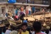 Five rescued from Mumbai building crash