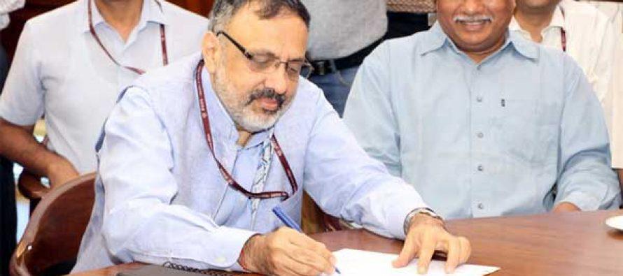 Rajiv Gauba takes charge as Union Home Secretary