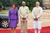 Swiss President receives ceremonial welcome