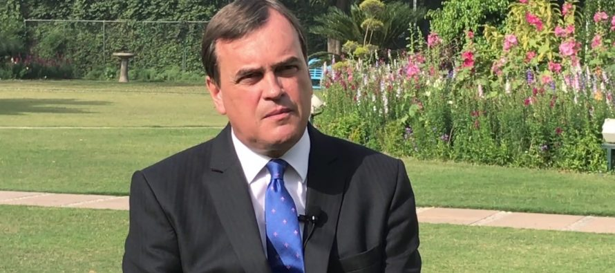 Britain admires India's stretching renewable targets: Envoy